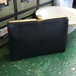 coblentz Bags - Vintage Coblentz Snakeskin Embossed Evening Bag